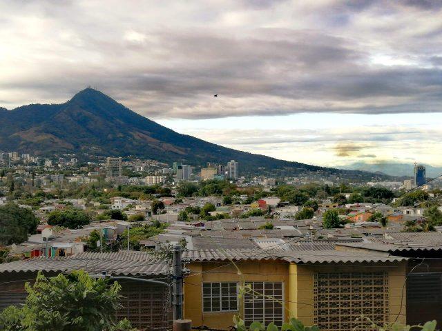 Stadtansicht aus El Salvador